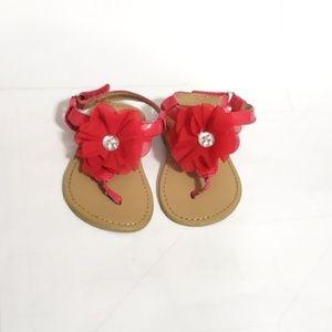 3/$15 🌞 Koala Kids T Strap Flower Sandals Size 4